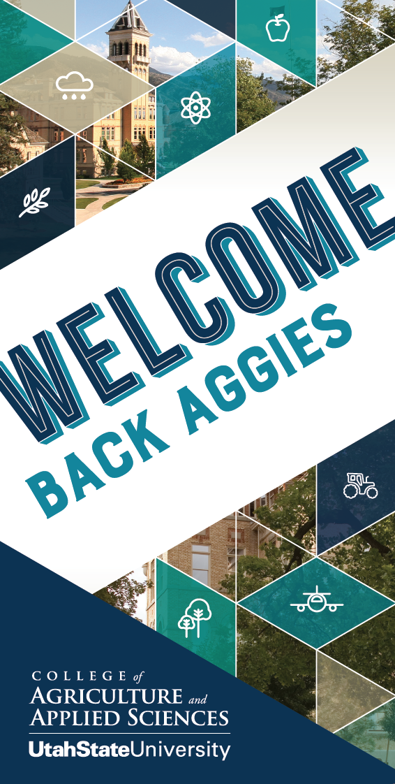 Usu College Of Agriculture Welcome Banners Applied Science Welcome Banners College Banner