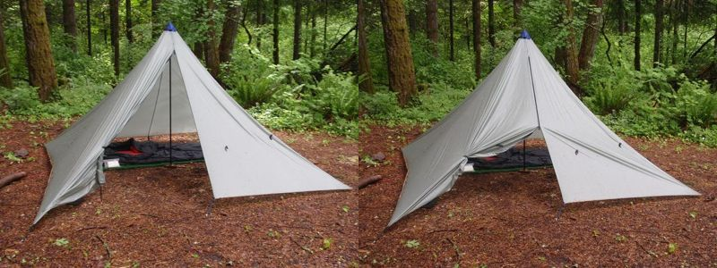 MYOG Silnylon Floorless 2-Person Tent - 1 & MYOG: Silnylon Floorless 2-Person Tent | Tents