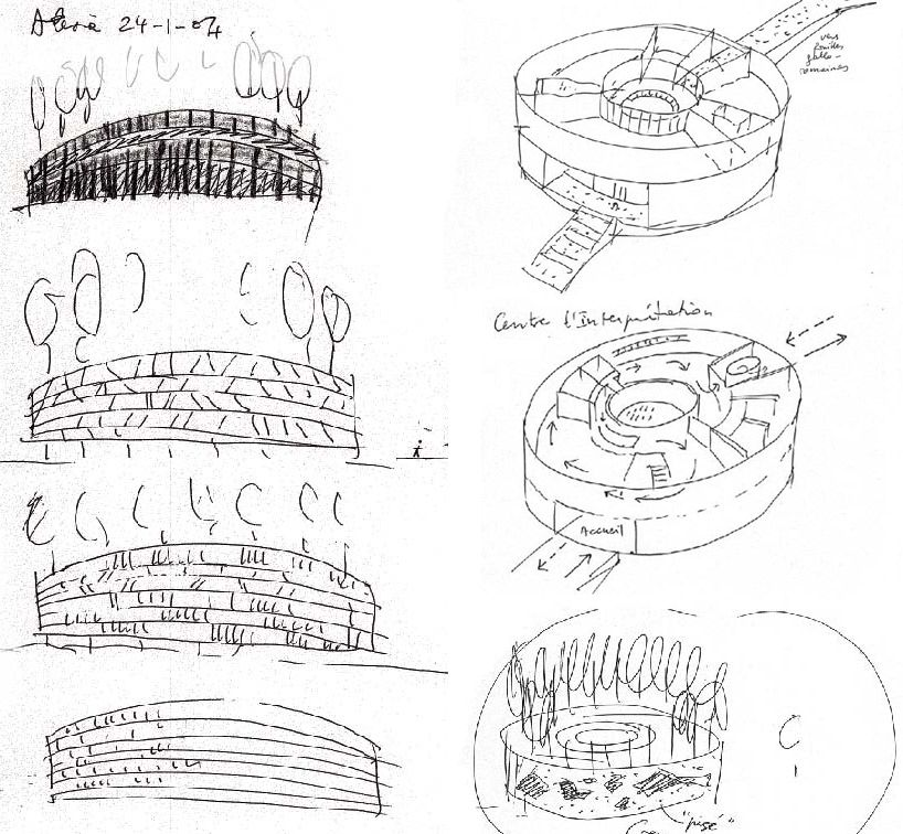 bernard tschumi architects: alésia museum and