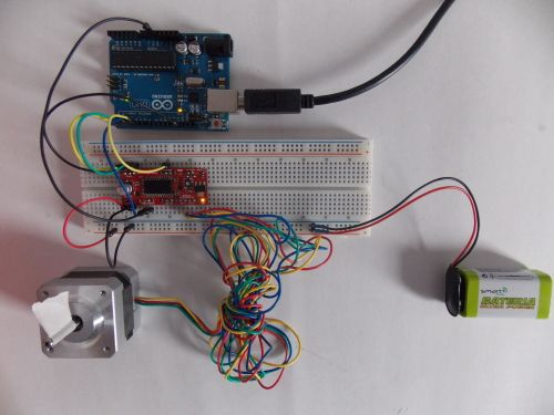 Tutorial Controlling The Displacement Of A Stepper Motor