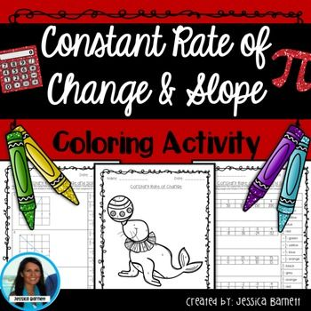 Constant of Proportionality Activity Coloring Page