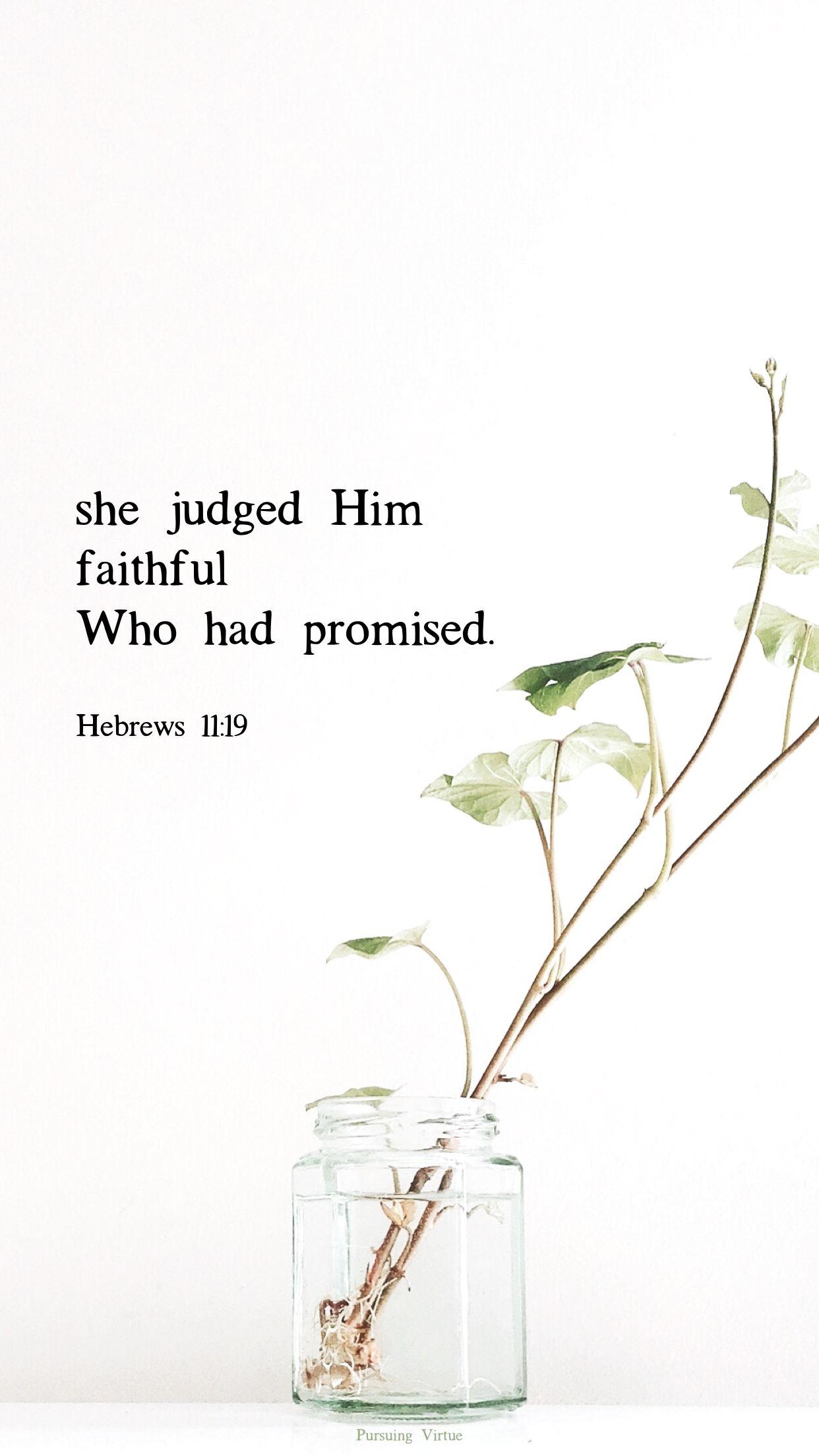 Judged Faithful