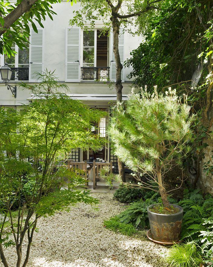 Le jardin secret de François Laffanour Gardens, Landscaping and