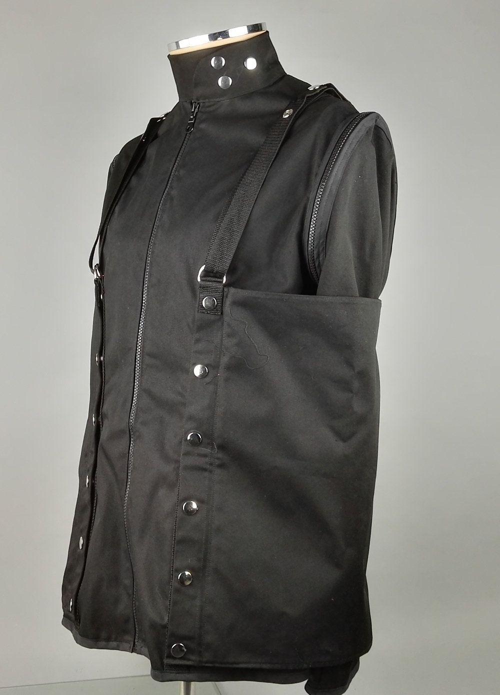 Male Armbinder Bondage Straitjacket, Mens Alt Fashion, Bdsm Restraint  Straight Jacket