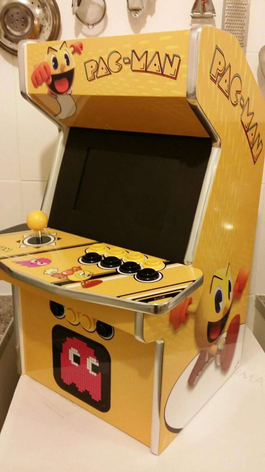 Custom Built Arcade Machine 😃Discover more awesome gaming