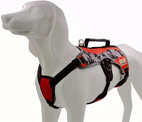Escape Proof Dog Harness For Outdoor Walking Hiking Multi Use