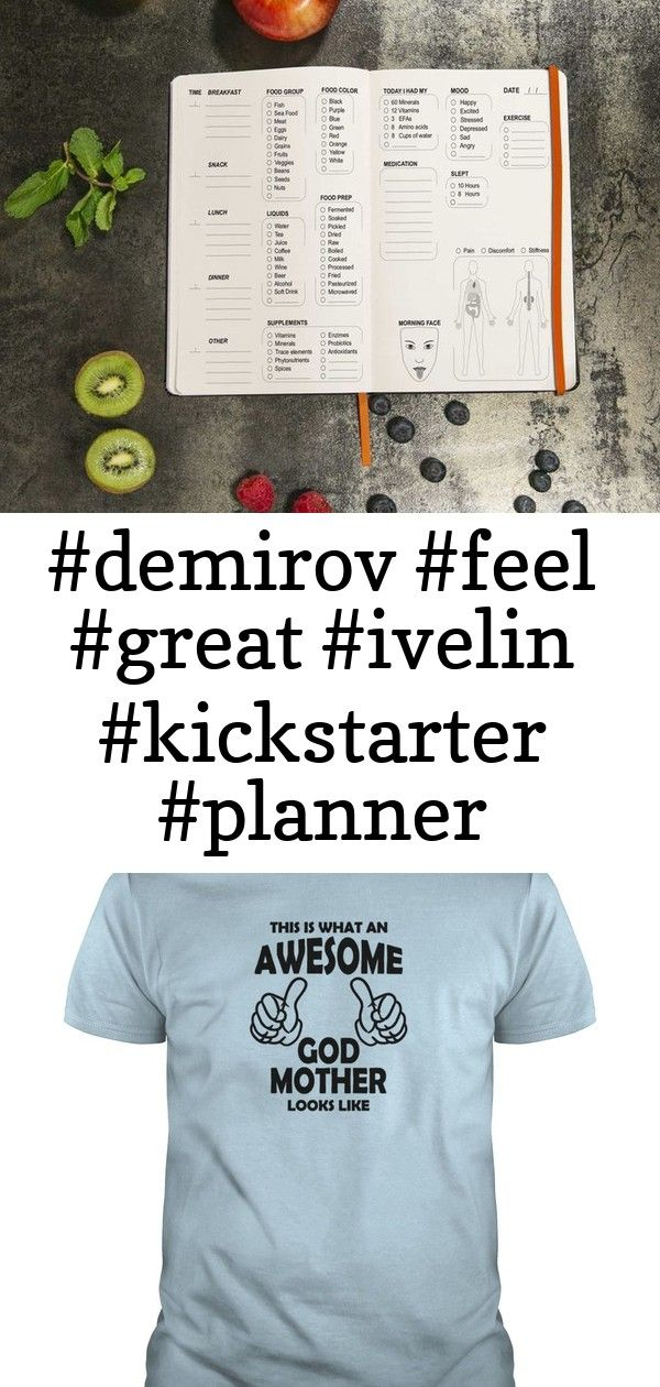 the radiance planner  look great f 2 THE RADIANCE PLANNER  Look Great Feel Great by Ivelin Demirov  Kickstarter and and and and ckstarterc Awesome God Mother Long Sleeve...