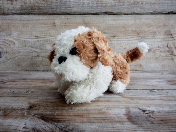 Plush Puppy Toy Old