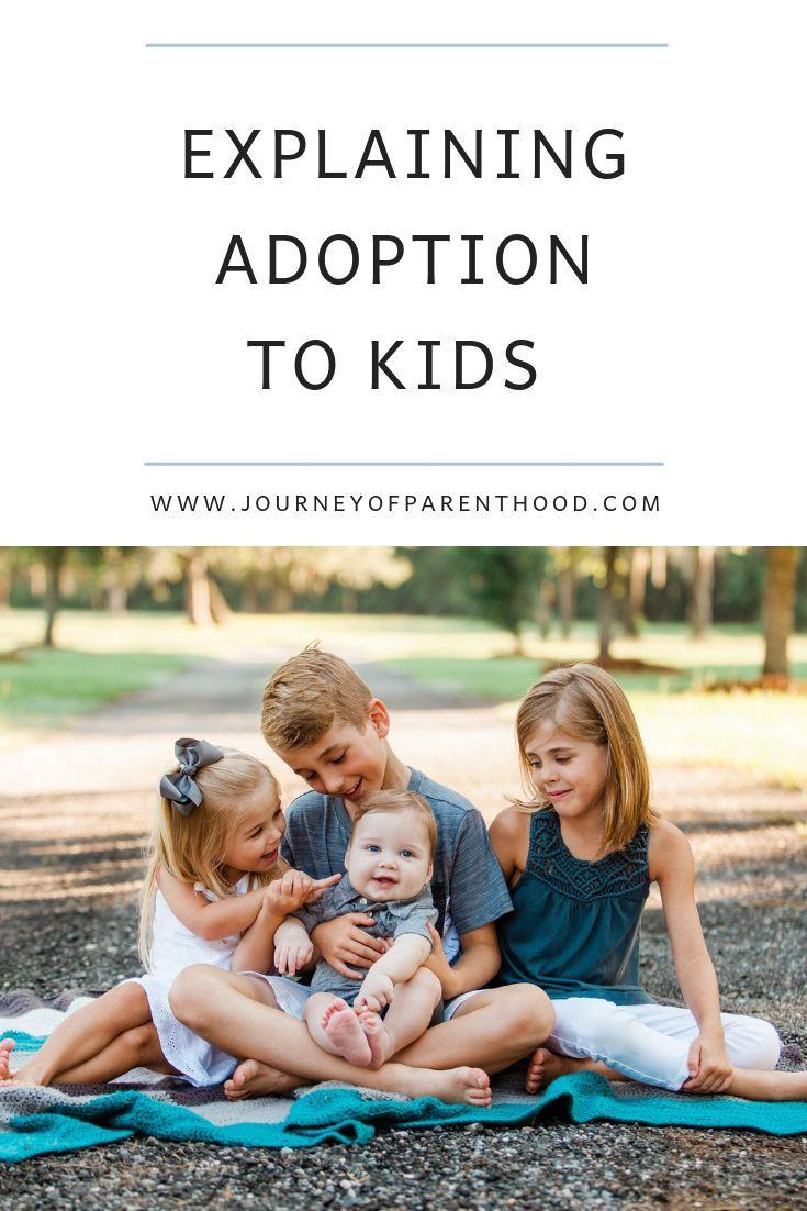 Explaining Adoption to Kids Adopting a child, Adoption
