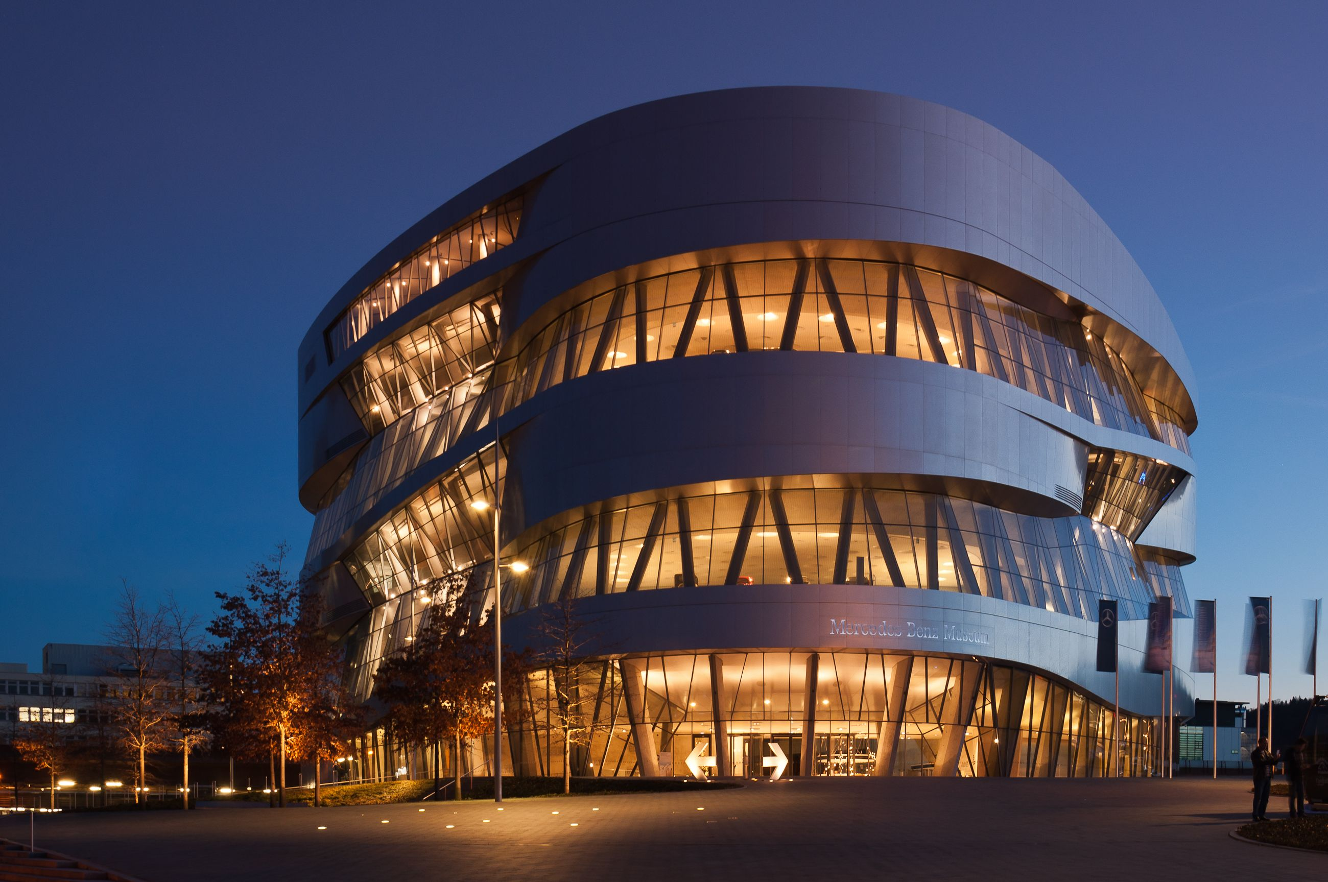 mercedes-benz museum, stuttgart, germany | amazing places around the
