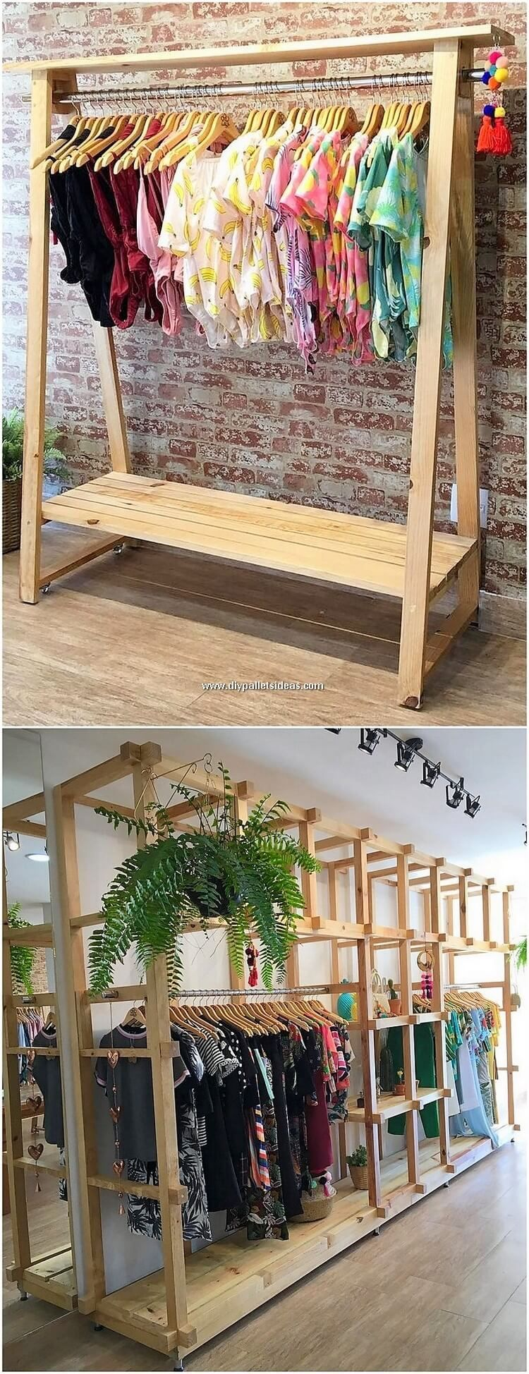 DIY Projects and Crafting Ideas with Recycled Pallets #oldpalletsforcrafting