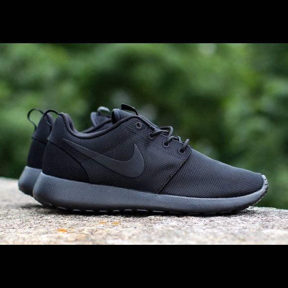 separation shoes 7b3fa a9937 ISO ALL BLACK NIKE ROSHES Looking for some all black nike roshes that arent  too expensive Nike Shoes Sneakers