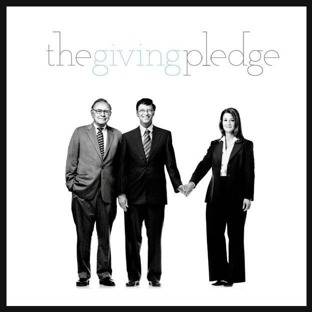 the giving pledge 60 minutes