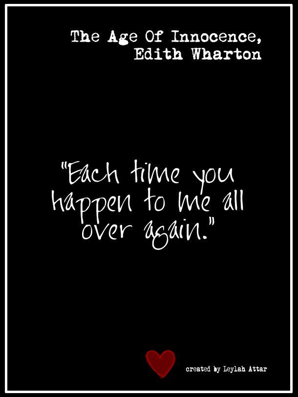 The Age Of Innocence By Edith Wharton Top Ten Quotes From My