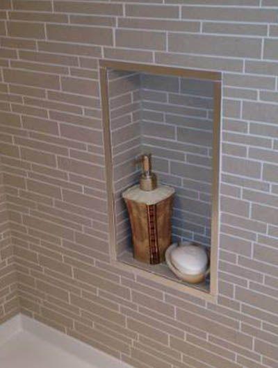 20 tile edge trim ideas  shower niche tile ready shower