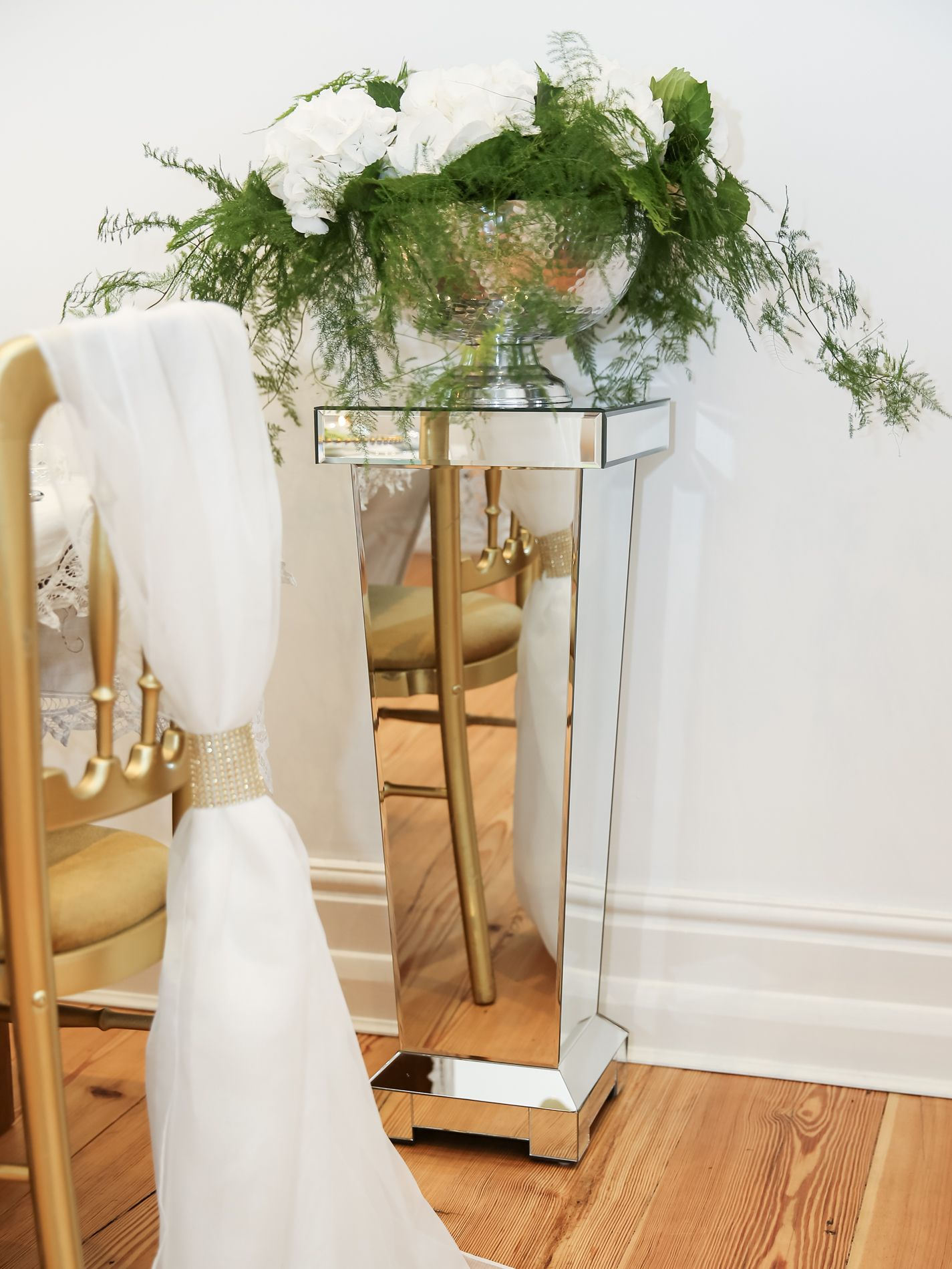 Luxury Chairs For Wedding Gold Wedding Chair Luxury Chiffon Chair Sash Mirrored