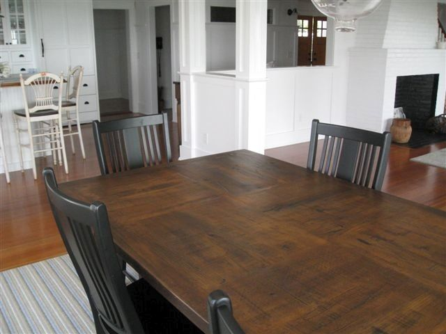 Farmhouse Tables Made To Order 4ft 12ft By Industrialfurnico On Etsy Https Www Etsy Farmhouse Table Plans Farmhouse Dining Room Table Farmhouse Dining Room