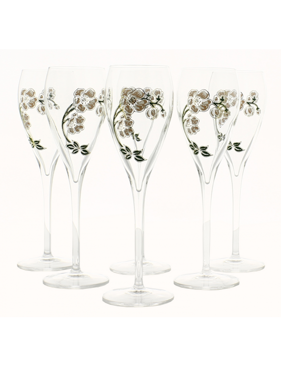 Champagne SIX VERRES BELLE EPOQUE (Nouvelle Edition