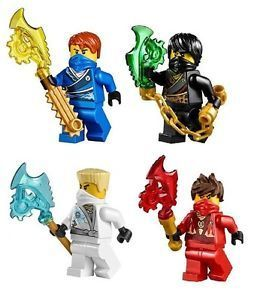Lego Vintage White Ninja Princess Minifig Lot figure warrior samurai female
