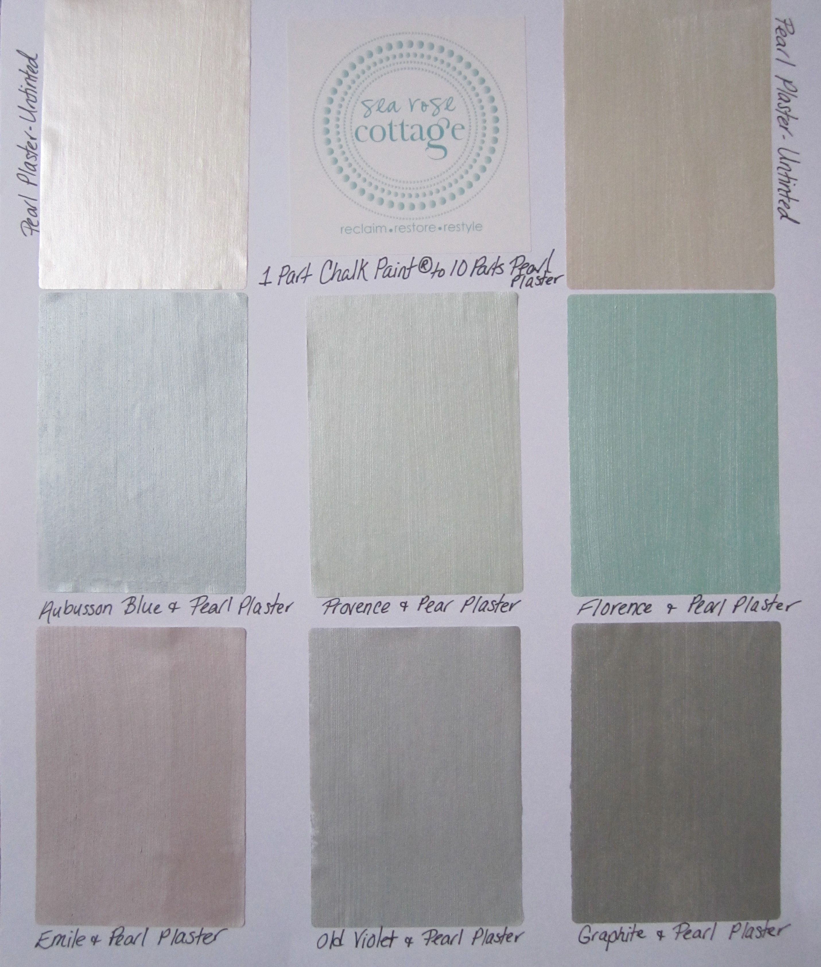 Pearl Plaster Mixed With Ascp 16 Parts Pearl Plaster To 1 Part Ascp Pearl Paint Chalk Paint Paint Furniture