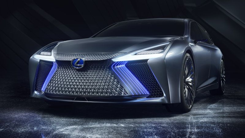 Lexus Ls Concept Previews Automated Driving Technology For 2020 Lexus Ls New Lexus Tokyo Motor Show