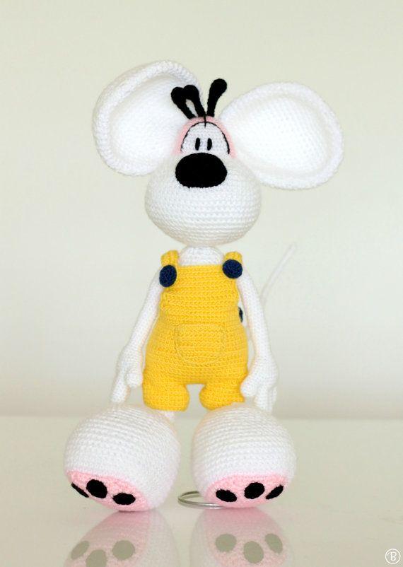 PATTERN: Diddl amigurumi crochet pattern | petra | Pinterest ...