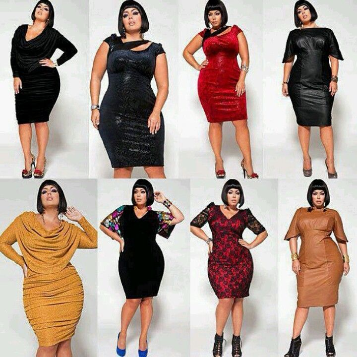 Dresses for the curvy women.. Looks great | Fashion | Pinterest ...