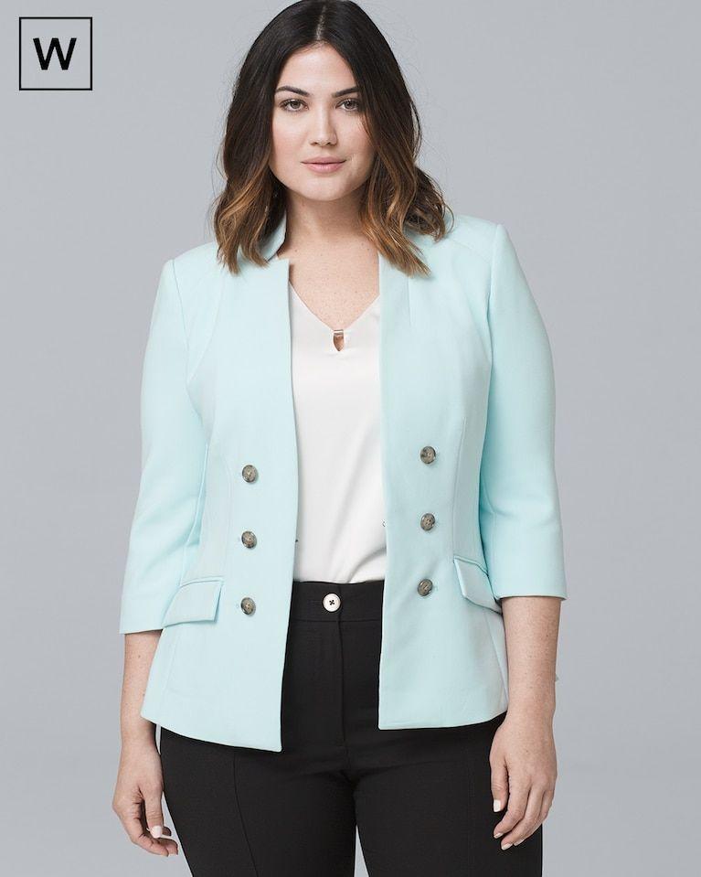 c05817ec7c4b1 Women s Plus Classic Blazer by White House Black Market