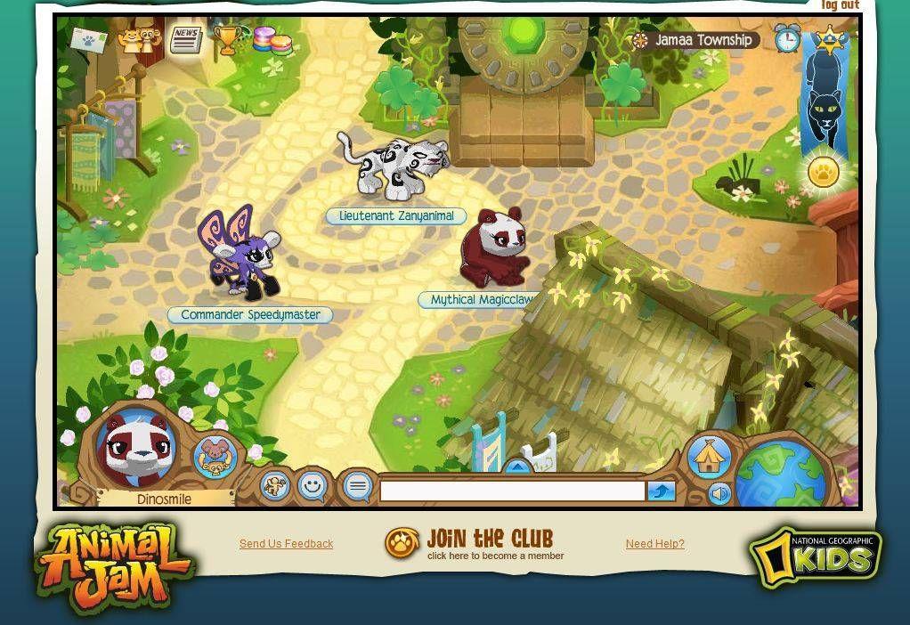 Animal Jam on National Geographic Kids Animal jam, Fun