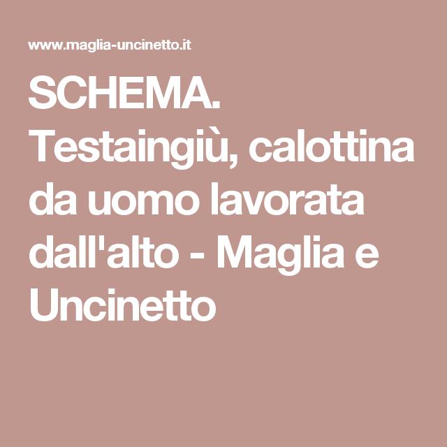 SCHEMA. Testaingiù 38348e3baf82
