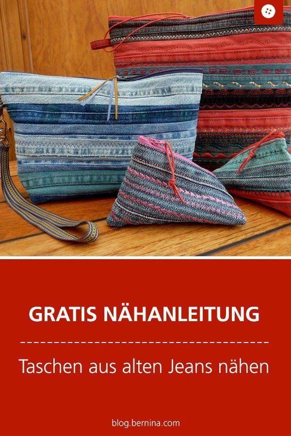 Photo of Vecchie cuciture di jeans: clutch, maglioni, ecc. »Blog BERNINA