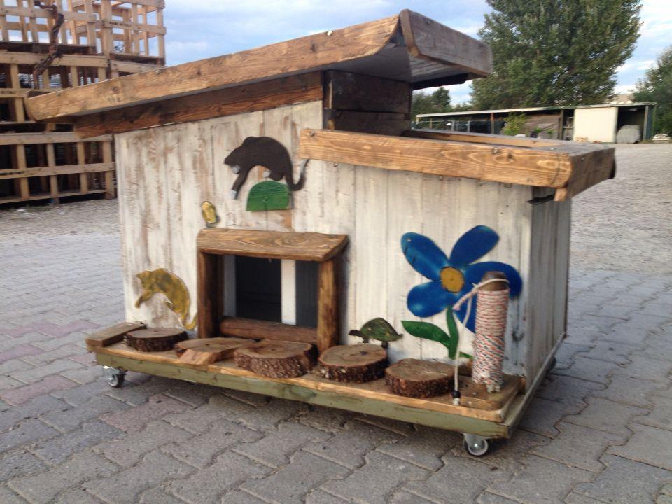 Casetta da giardino per gatti casetta da giardino per - Recinti per giardino ...