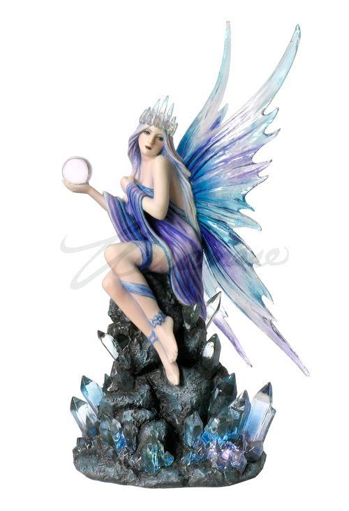 Stargazer Wu76228aa Jpg 500 733 Fairy Statues Fantasy Figurine Fairy Figurines
