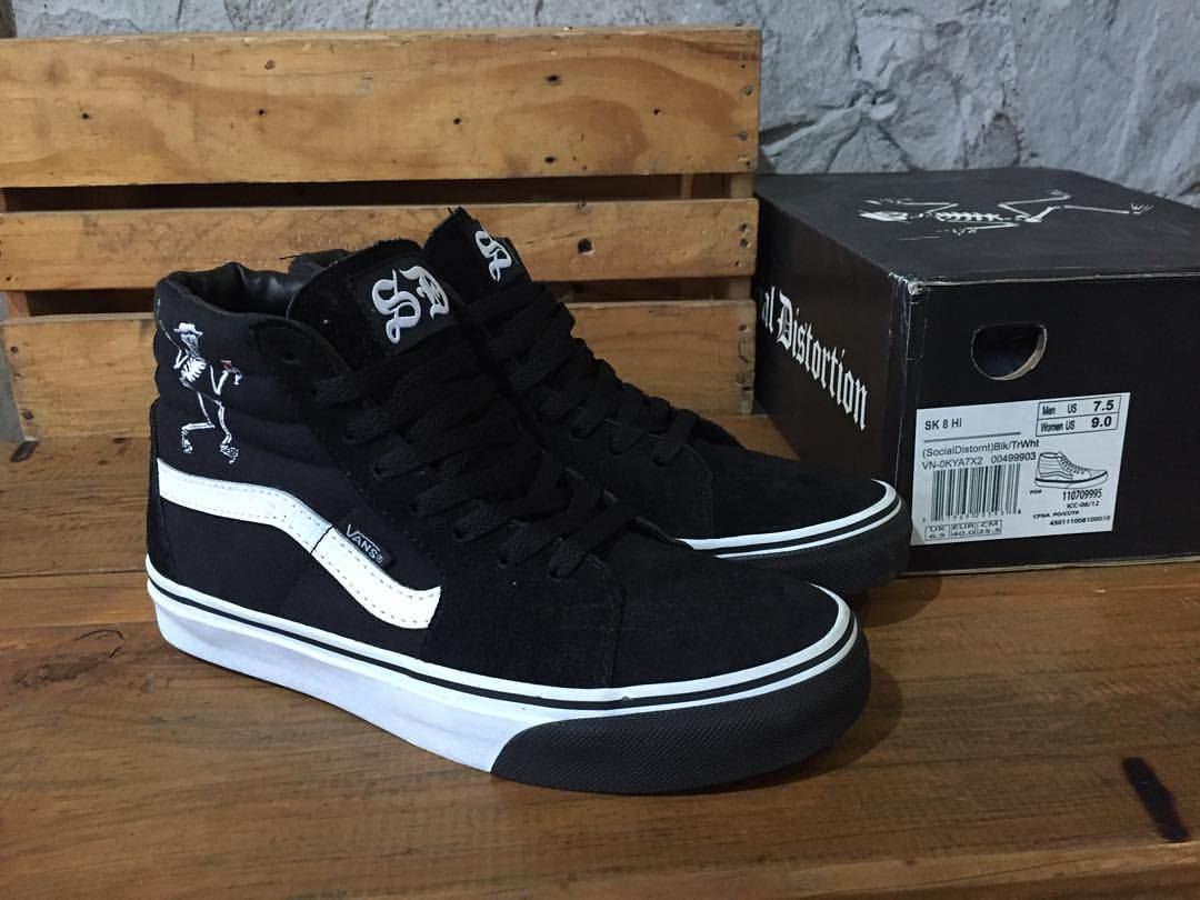 Vans skate high x social distortion 40 dc125e272a