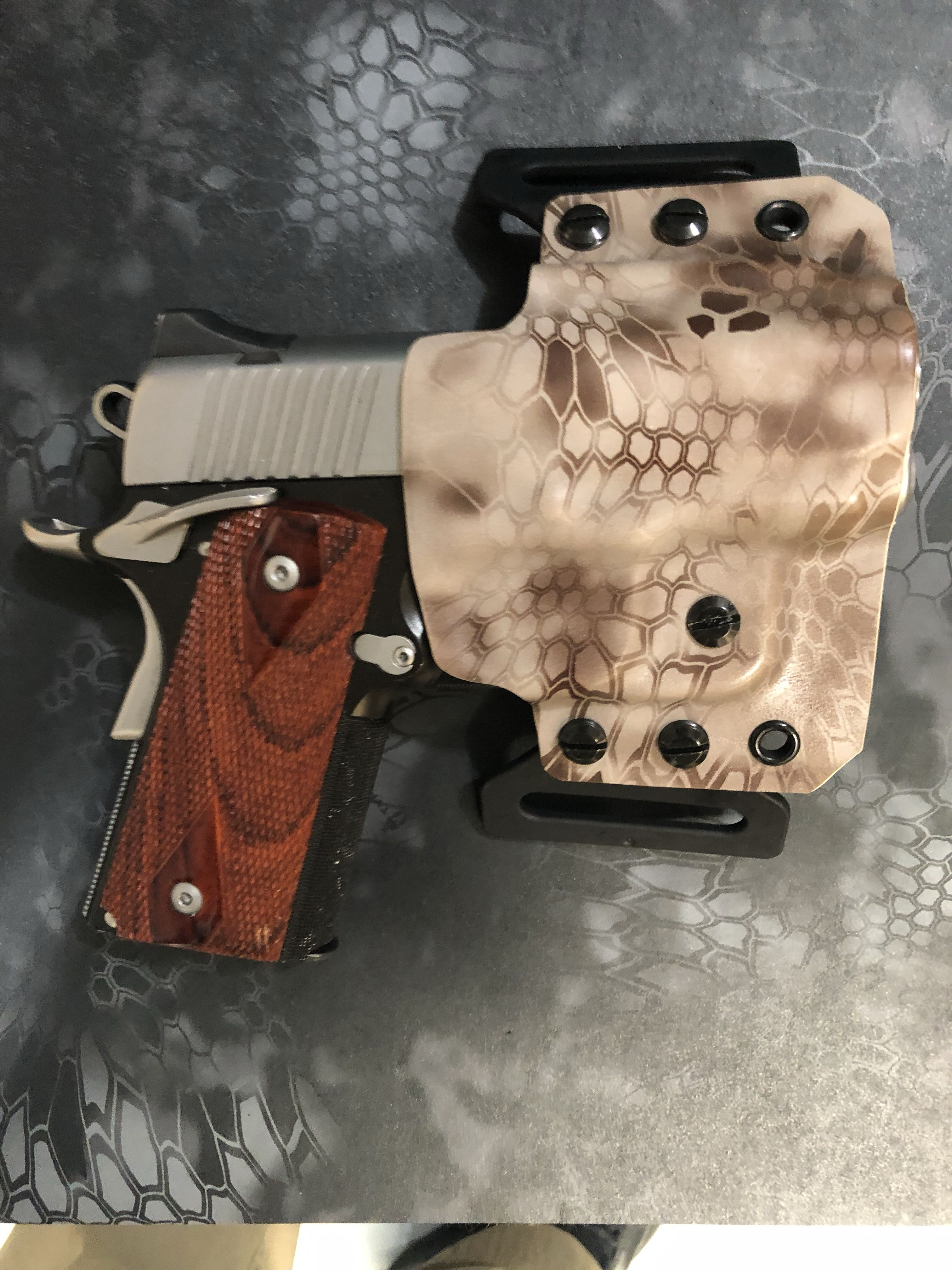 Kydex Holster for Kimber Ultra Carry | Gun Holsters | Kydex holster