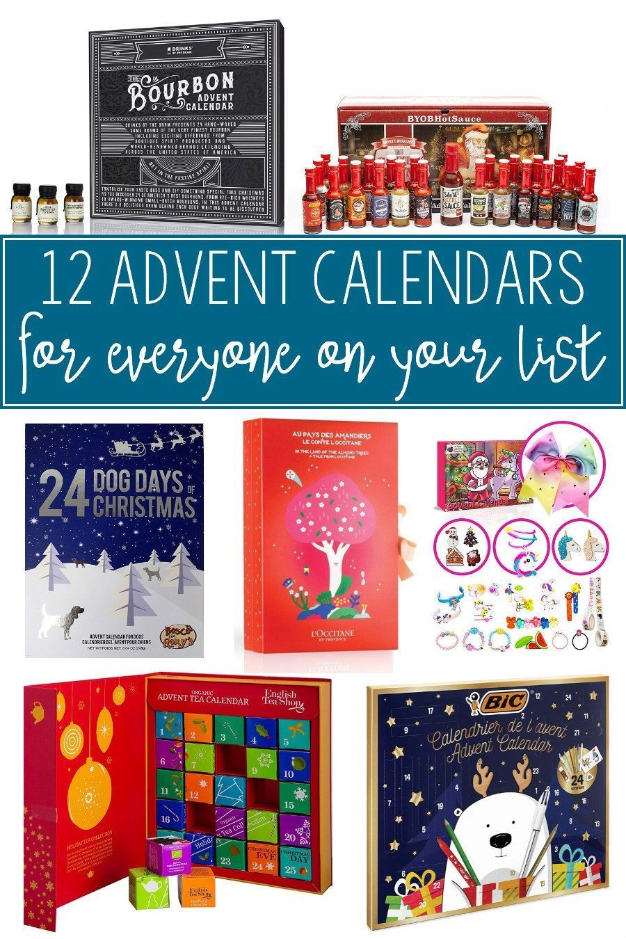 12 Advent Calendars For Everyone On Your List