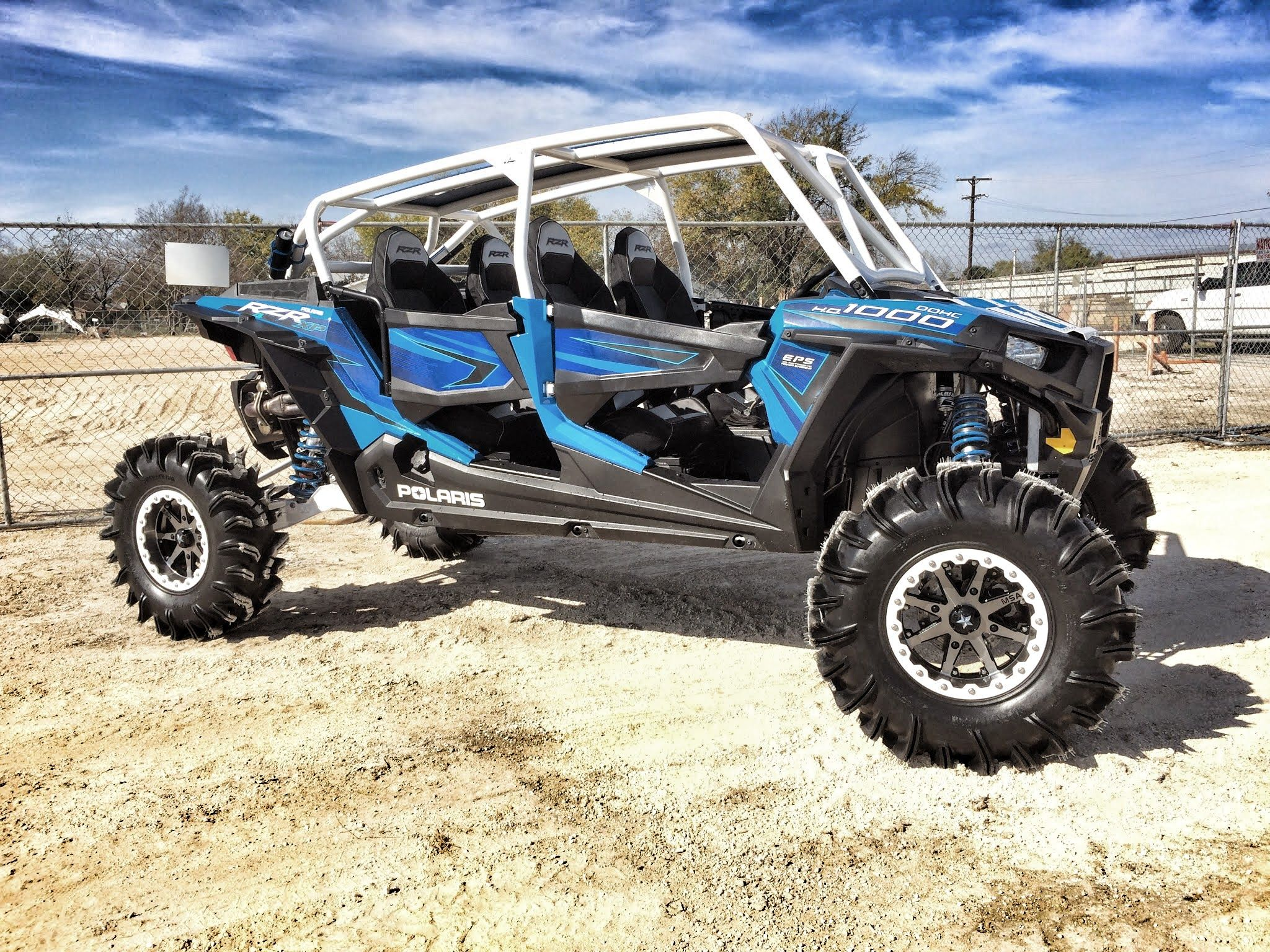 Project cookie monster based on a 2015 rzr 4 1000 created by wc3 woods