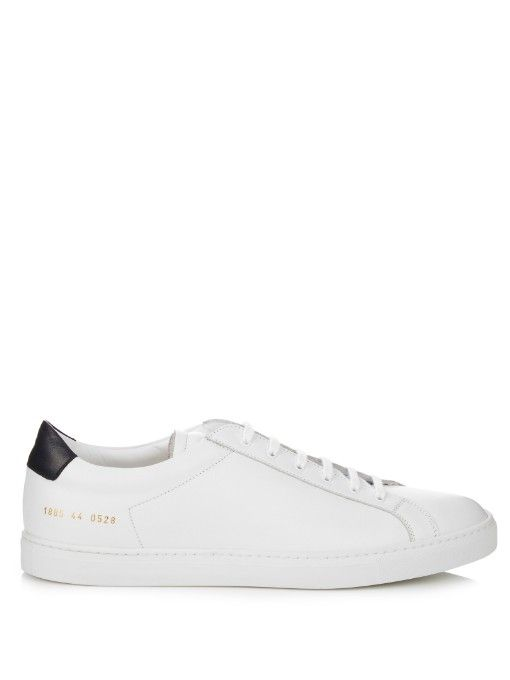 384751d3105f6 COMMON PROJECTS Achilles Retro Low-Top Leather Trainers.  commonprojects   shoes  sneakers