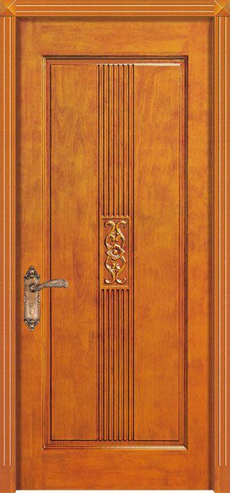 Foto de puertas handcrafted de madera s lida para los for Puertas de madera interiores