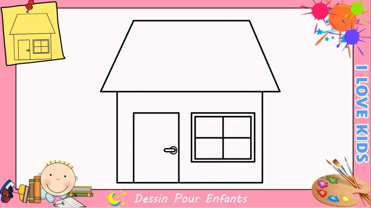 Dessin Maison Facile Etape Par Etape Comment Dessiner Une Maison 6 Maison Dessin Dessin Comment Dessiner
