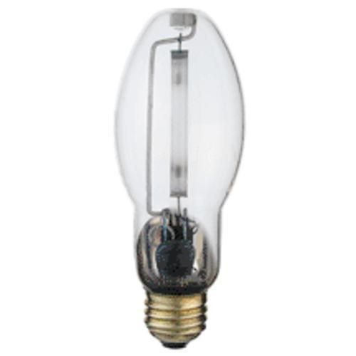 Satco S3128 Medium Base High Pressure Sodium Lamp Clear 100w