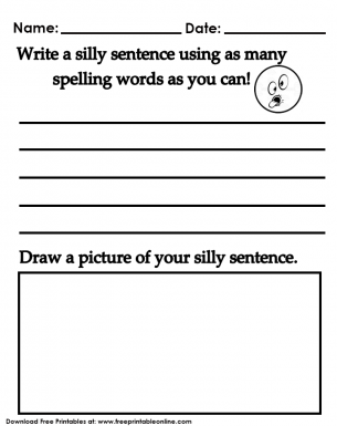 SILLY SENTENCES worksheet - Free ESL projectable worksheets made ...