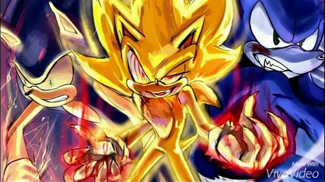 Dark Super Evil And Werehog Sonic Big Trio Xd