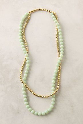 love the mint + gold combo