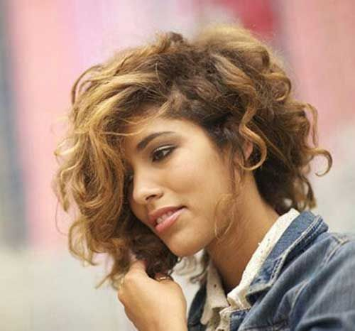 15 Short Haircuts For Curly Thick Hair Http Www