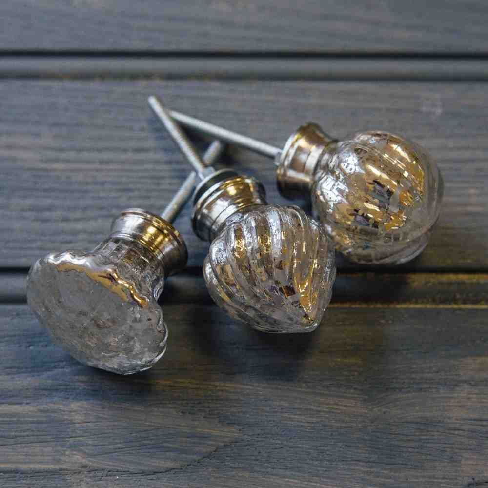 Glass · Antique Glass Cabinet Knobs