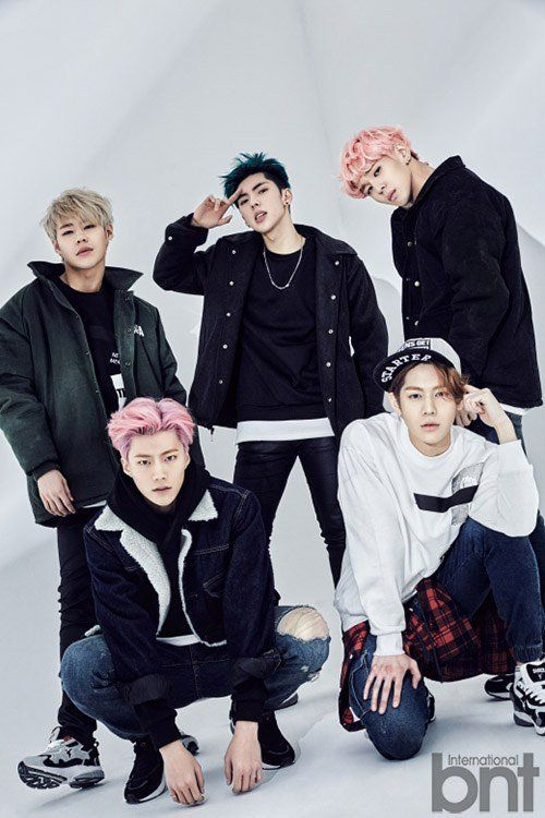 New Boy Group Imfact Poses For International Bnt Boy Groups Poses Boys Republic