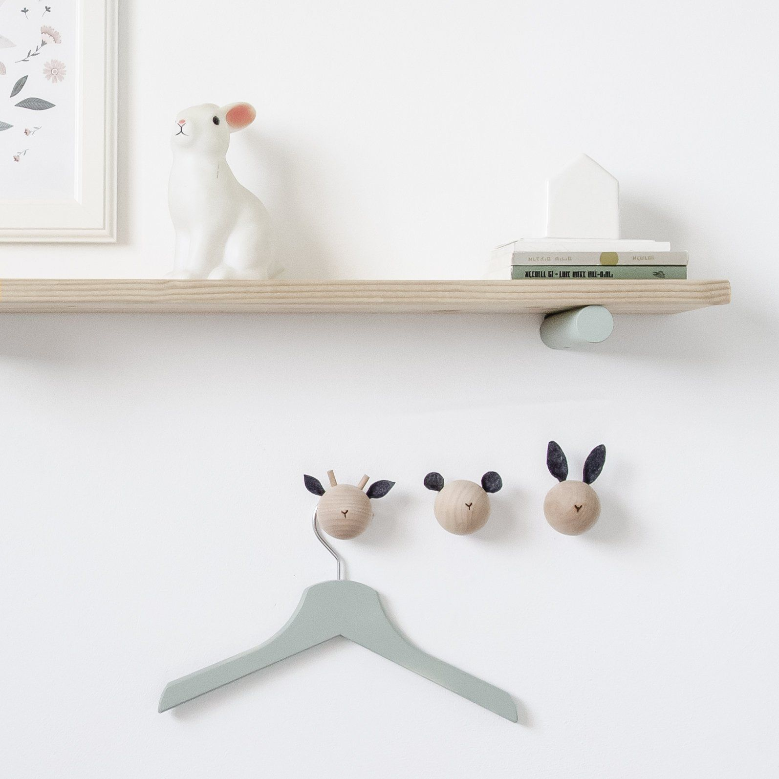 Animal Wall Hooks Loopdesignstudio Kids Wall Decor Kid Room Decor Storage Kids Room