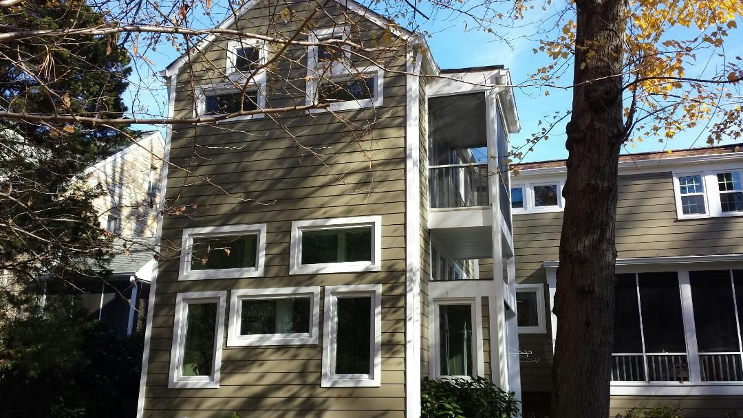 This Home In Woodbridge Va Received New James Hardie Siding In