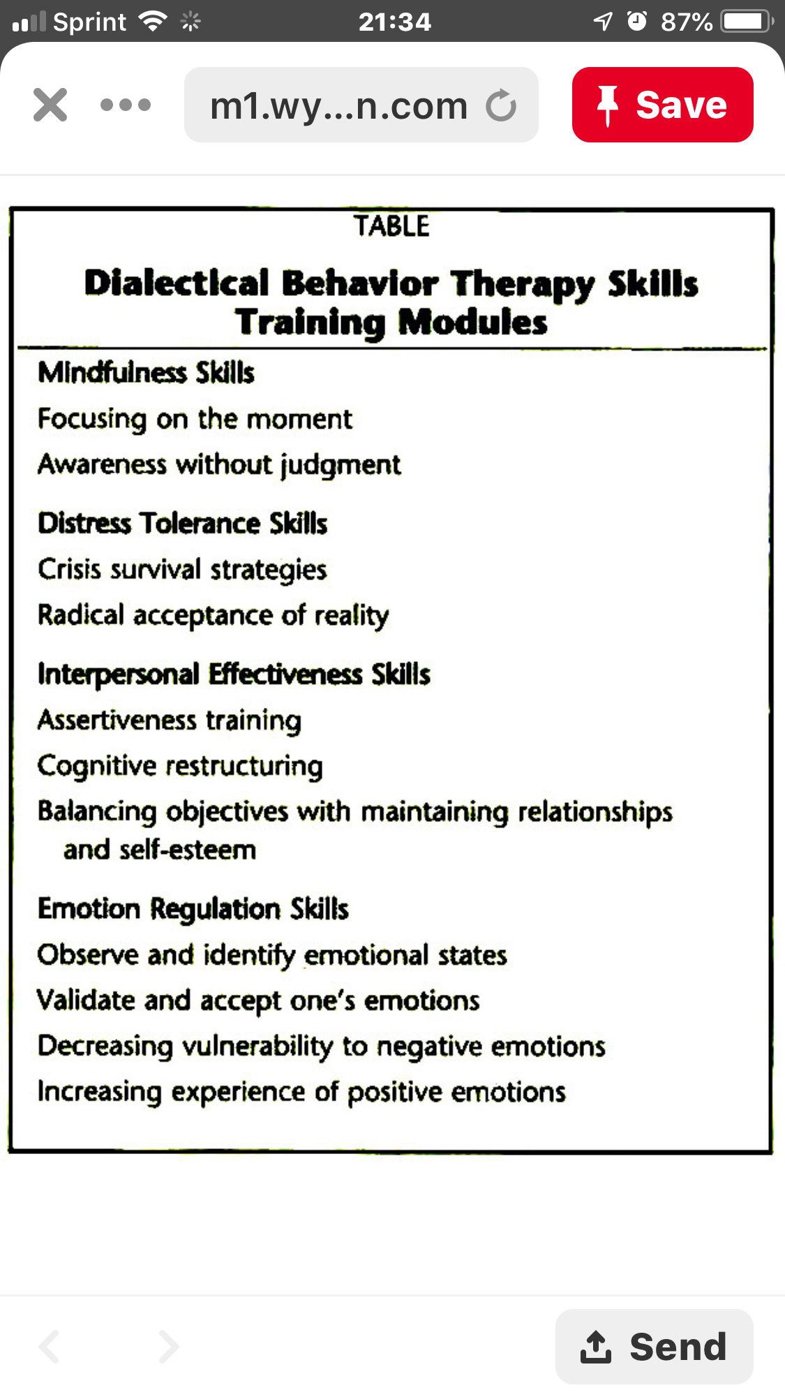 Pin By Shelley N On My Calling Distress Tolerance Skills Dialectical Behavior Therapy Interpersonal Effectiveness